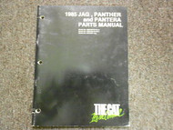 1985 Arctic Cat Jag Panther Pantera Illustrated Service Parts Catalog Manual OEM