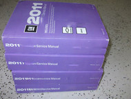 2011 Chevy COLORADO & GMC CANYON TRUCK Service Shop Repair Manual Set NEW