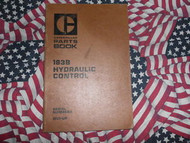 Caterpillar 183B Hydraulic Control Part Book 41V1 & up