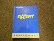 1995 HYUNDAI ACCENT Service Repair Shop Manual Engine Cooling System OEM V1