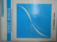 1987 Mazda 929 Service Manual FACTORY OEM 87 Air Conditioner DIESEL KIKI BOOK 87
