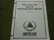 1991 Arctic Cat Pantera Illustrated Service Parts Catalog Manual FACTORY OEM