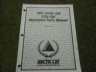 1991 Arctic Cat Kitty Cat Illustrated Service Parts Catalog Manual FACTORY OEM