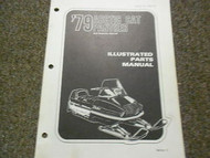 1979 Arctic Cat Panther Illustrated Service Parts Catalog Manual FACTORY OEM