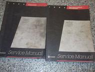 1985 PLYMOUTH VOYAGER Service Repair Shop Manual SET OEM FACTORY BOOK 85