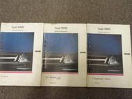 1986 1991 Saab 9000 Service Repair Shop Manual HUGE SET FACTORY OEM BOOKS 88 90