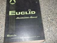 Euclid Models Series 3 4 6-71 71E 71N 71T Service Shop Repair Manual Diesel