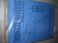1971 Oldsmobile Cutlass 442 98 Toronado Service Shop Repair Manual FACTORY OEM