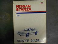1987 Nissan Stanza Service Repair Shop Manual FACTORY DEALER SHIP OEM BOOK 87