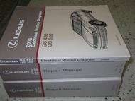 2005 LEXUS GS430 GS300 Service Shop Repair Manual SET FACTORY OEM 05 BOOKS