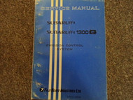 1970 1971 Subaru 1300 Emission Control Service Repair Shop Manual Factory OEM