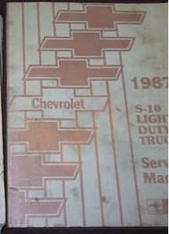 1987 Chevy S10 S-10 Truck Service Shop Repair Book Manual 87 DEALERSHIP OEM HUGE