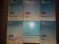 1986 1989 Saab 9000 Service Repair Shop Manual HUGE SET FACTORY OEM BOOKS 87 88