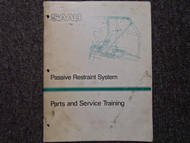 1988 Saab Parts and Service Training Service Repair Shop Manual FACTORY OEM 88