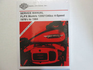 1979 1980 1981 Harley Davidson FL FX Electra Super Service Repair Manual x