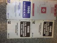 1986 Dodge RAM VAN WAGON RWD Service Shop Repair Manual SET OEM FACTORY BOOK