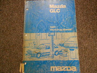 1985 Mazda GLC Service Repair Shop Manual FACTORY OEM BOOK 85