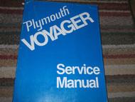 1974 Plymouth Voyager VAN Shop Service Repair Manual FACTORY OEM