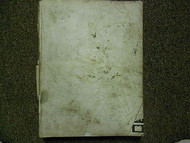 1987 Acura Integra Service Repair Shop Manual FACTORY OEM BOOK 87