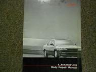 1986 Acura Legend Body Repair Service Repair Shop Manual FACTORY OEM BOOK 86