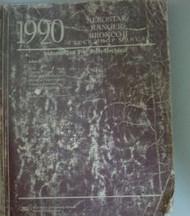 1990 FORD AEROSTAR VAN Service Shop Repair Manual VOLUME 2 BODY ELECTRICAL