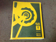 1968 PONTIAC Firebird GTO LEMANS BONNEVILLE CATALINA Service Shop Repair Manual