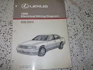 1996 LEXUS GS300 GS 300 Electrical Wiring Diagram Service Shop Repair Manual EWD