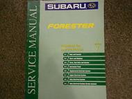 2000 Subaru Forester Body Electrical Section 7 Service Repair Shop Manual OEM