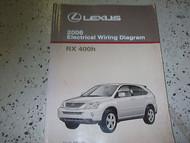 2006 LEXUS RX330 RX 330 Electrical Wiring Diagram EWD Service Shop Manual 06 EWD
