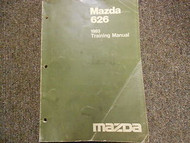 1983 MAZDA 626 Training Service Repair Shop Manual FACTORY OEM BOOK 83