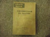 Caterpillar D9 Tractor Part Book 66A3266 - 66A9417