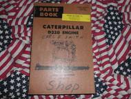 Caterpillar B320 Engine Parts Book Manual CAT
