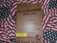 Caterpillar 7S Bulldozer Part Book 5A2001 - 5A5084