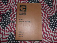 Caterpillar 637 Tractor Part Book 65M1 79P1