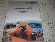 2004 Polaris TRAILBLAZER TRAIL BLAZER Shop Repair Service Manual FACTORY OEM 04