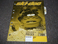 2000 Ski Doo ski-doo SNOWMOBILE MXZ 440 PARTS CATALOG Manual OEM FACTORY