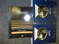 1999 FORD MERCURY VILLAGER Service Shop Repair Manual Set 99 FACTORY DEALERSHIP