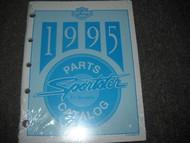 1995 Harley Davidson Sportster Parts Catalog Manual FACTORY OEM NEW