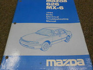 1994 Mazda 626 MX-6 MX6 Body Electrical Service Repair Shop Manual BOOK OEM 94