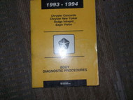 1994 CHRYSLER CONCORDE BODY DIAGNOSTIC PROCEDURES Service Shop Repair Manual OEM