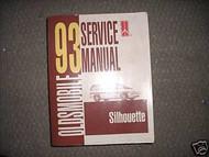 1993 Oldsmobile Olds GM Silhouette Service Repair Shop Workshop Manual OEM