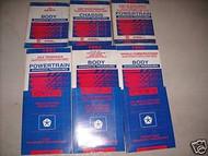 1993 Chrysler Concorde Repair Shop Service Manual Set