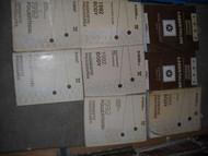 1992 EAGLE TALON PLYMOUTH LASER Service Shop Repair Manual SET 2 VOL FACTORY