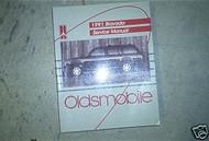 1991 Oldsmobile Olds GM Bravada Service Shop Repair Workshop Manual OEM