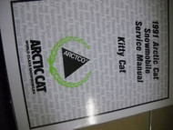 1991 Arctic Cat Kitty Cat Service Repair Shop Manual FACTORY OEM BOOK 91 ARCTIC