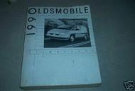1990 Oldsmobile Silhouette Service Repair Shop Manual