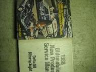 1988 Oldsmobile Ninety Eight 98 Service Shop Manual SET