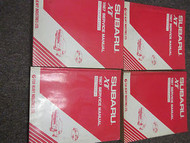 1987 Subaru XT Service Repair Shop Manual HUGE SET FACTORY OEM BOOKS 87