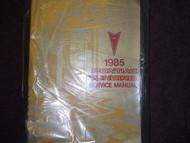 1985 85 PONTIAC SUNBIRD Service Repair Shop Manual OEM GM DEALERSHIP HUGE BOOK