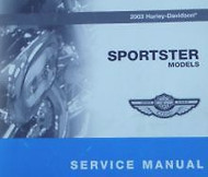 2003 Harley Davidson Sportster Service Repair Workshop Shop Manual NEW 2003